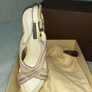 Louis Vuitton Wedge Heels